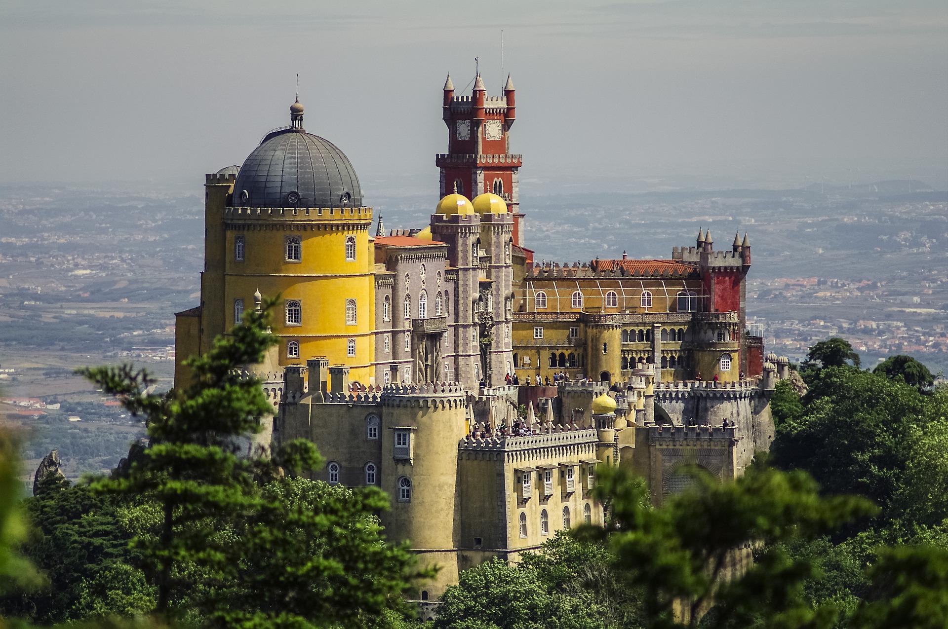 Sintra palazzo de Pena