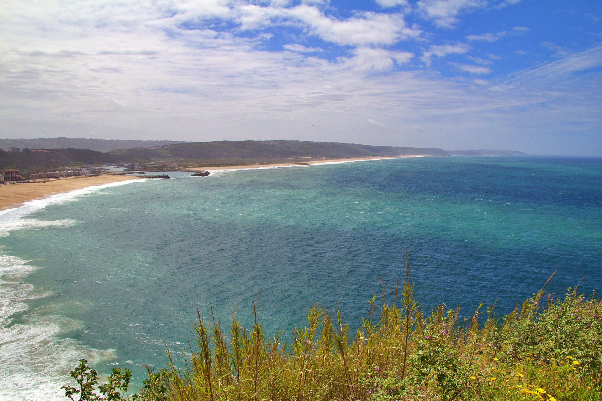Nazarè spiaggia