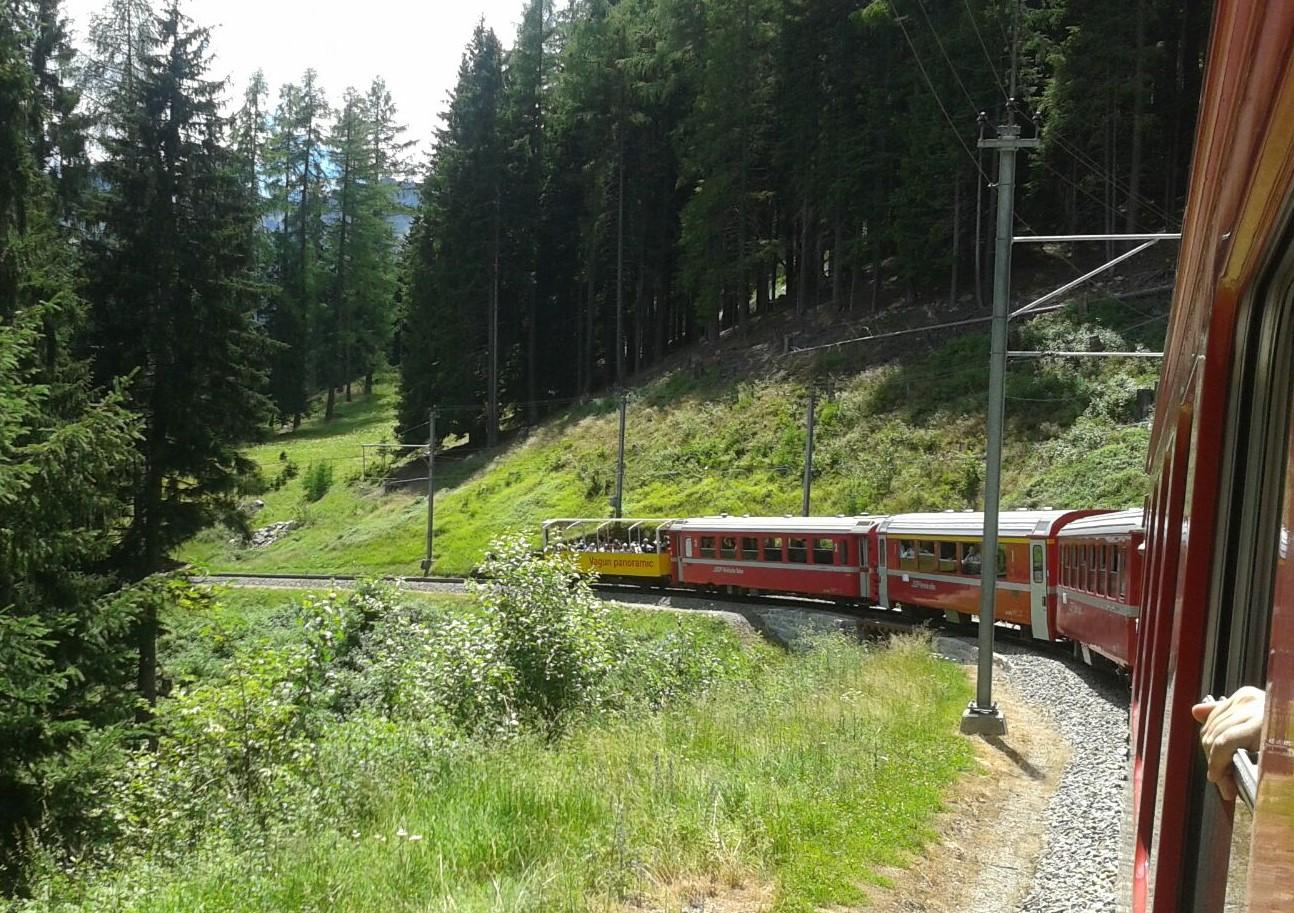 treno dal finestrino